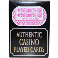 Circus Circus Playing Cards from Las Vegas