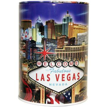 Tin Las Vegas Souvenir Savings Bank Lv Strip Las Vegas