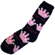 Black & Pink Vegas Princess Souvenir Socks