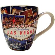 Las Vegas Postcard Design Coffee Mug-18oz.