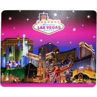 Las Vegas Mousepad Pink Skyline