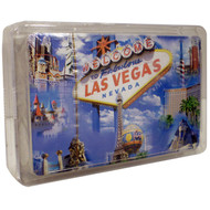 Las Vegas Sign and Cloud Playing Cards-Souvenir