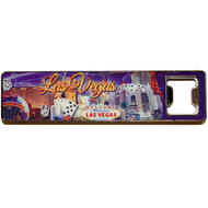 Las Vegas Super Strong Magent/Bottleopener Purple Sky Design