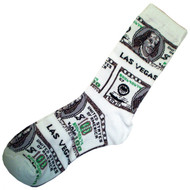 Money Socks for a Las Vegas Souvenir