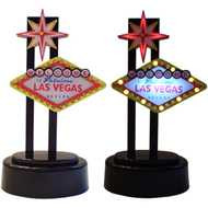 Mini Lighted Las Vegas Sign-Black