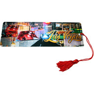 "Las Vegas Souvenir Bookmark ""Big Dice @ Night"" Design"