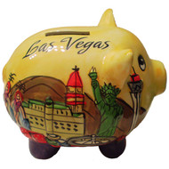 Yellow HiPuff Las Vegas Coin Bank