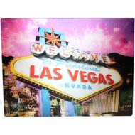 Las Vegas Holographic Magnet Las Vegas Pink Sign