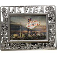 Plastic Las Vegas Photo Frame