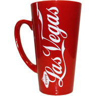 Las Vegas Souvenir Tall Mug Enjoy LV RED- 16oz.