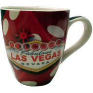 """Dice"" Las Vegas Coffee Cup-18 oz."