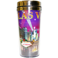 LV Travel Mug Purple Spotlights- 16oz.
