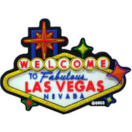 Las Vegas Sign Laser Cut Magnet