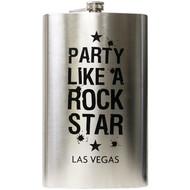 Party Like a Rock Star- LAS VEGAS JUMBO- Flask 64oz