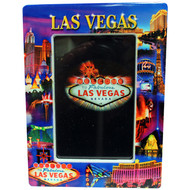 Las Vegas Metallic Collage Frame