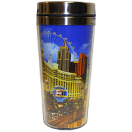 BACK Las Vegas Neon Sign Travel Mug-16oz