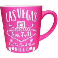 Las Vegas PINK Whisky 16oz Taper Mug