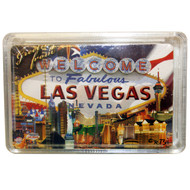 Las Vegas Flag Cards- Clear Boxed