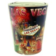 Fireworks Design Las Vegas Shotglass