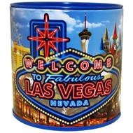 Las Vegas Neon Sign Tin Bank