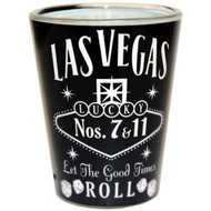 Black Whisky Las Vegas Shot glass