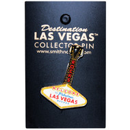 Las Vegas Guitar Shape  Pin/Lapel