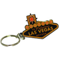 "Black and Gold ""Welcome to Las Vegas Sign"" Key Chain"