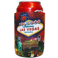 Las Vegas Firework Can Coozie