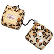 Fuzzy Leopard Las Vegas Dice