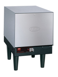 """Compact Booster Heater, electric, 6-gallon storage capacity, electric operation, 12-KW, stainless steel front panel, powder-coated silver-gray hammertone body, 6"""" plastic non-adjustable legs, Castone tank, NSF, cUL, UL"""