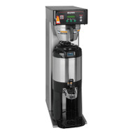 36600.0005  ICB-DV Infusion Series® Coffee Brewer - Tall, automatic, single brewer, (3) brew buttons, (2) programmable full/half batch switches, smart funnel, TF servers (sold separately), digital display in English/Spanish, energy-saver mode, dual voltage, 120v, 208v, 240v/60/1-ph, 1700/2900/4050 watts, 14.0/13.8/16.8 amps, UL, NSF. Shown with TF server