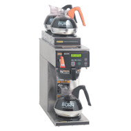 38700.0000  AXIOM®-15-3 Coffee Brewer, 200 oz. capacity tank, with 1 lower brewer and 2 upper warmers, brews 4.2 gallons per hour, hot water faucet, SplashGard® funnel, LCD display, automatic warmer shut-off, 120V/60/1-ph, 1800w, 15 amps, cord attached, UL, NSF