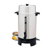 West Bend Commercial Aluminum Coffeemaker, 100 Cup - 33600