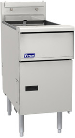 Solstice™ Fryer, electric, floor model, full frypot, 40 - 50 lb. oil capacity, solid state controls, melt cycle, boil out capacity, drain valve interlock switch, stainless steel tank, front & sides, 14.0kW, ENERGY STAR®, UL, NSF, CE, GS