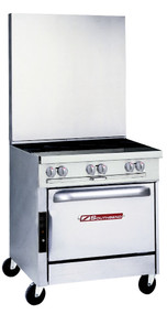 "Platinum Heavy Duty Gas Range, 36""w. - P36D-BBB"