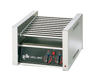 Grill-Max® Hot Dog Grill, roller-type, stadium seating, chrome-plated rollers, capacity 20 hot dogs, analog controls for front and rear zones, stainless steel construction, cULus, UL EPH