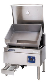 Electric Tilting Skillet With Manual Tilt 40 Gal Belm 40