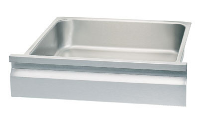 "Budget Drawer, 20""W x 15""D x 5"" deep drawer pan insert, stainless steel"