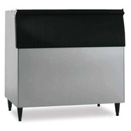 "Ice Bin, 48""W, top-hinged front-opening door, 800-lb ice storage capacity, for top-mounted ice makers, stainless steel exterior, painted legs included, protected with H-GUARD Plus Antimicrobial Agent, ETL, ETL-Sanitation"