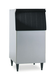"""Ice Bin, 30""""W, top-hinged front-opening door, 250 lb ice storage capacity, for top-mounted ice maker, vinyl clad, painted legs included, protected with H-GUARD Plus Antimicrobial Agent, ETL, ETL-Sanitation"""