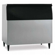 "Ice Bin, 48""W, top-hinged front-opening door, 800-lb ice storage capacity, for top-mounted ice makers, vinyl clad, painted legs included, protected with H-GUARD Plus Antimicrobial Agent, ETL, ETL-Sanitation"