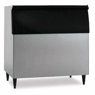 "Ice Bin, 44""W, top-hinged front-opening door, 700-lb ice storage capacity, for top-mounted ice makers, stainless steel exterior, painted legs included, protected with H-GUARD Plus Antimicrobial Agent, ETL, ETL-Sanitation"