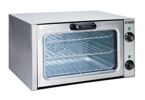 Adcraft Coq 1750w Countertop Quarter Size Convection Oven