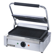 Panini grill w/Grooved Plates ADCRAFT SG-811
