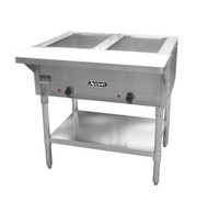 2 Well Steam Table Hot Food Serving Counter ADCRAFT ST-120/2