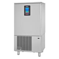 "HURRiCHiLL™ Blast Chiller/Shock Freezer, Reach-in, FREE SHIPPING,  self-contained, (10) 12"" x 20"" x 2.5"" pan capacity, 100 lbs. from 160° F to 38° F blast chill capacity/90 minutes, 60 lbs. 160° F to 0° Freeze capacity/240 minutes, 7"" LCD touch screen controller with Quick Start & A La Carte functionality, (1) heated food probe, stainless steel interior & exterior, 6"" stainless steel legs, 1-1/2 HP, UL CLASSIFIED EPH, cUL, ANSI/NSF"