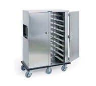"""Premier Series™ Tray Truck, enclosed, single compartment, non-insulated, capacity (10) 14""""x18"""" or 15""""x20"""" trays, 5"""" ledge spacing, stainless steel construction, (4) 6"""" swivel casters (2) with brakes, full perimeter bumper, NSF"""