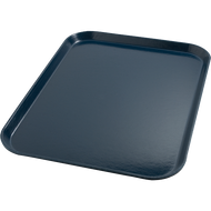 "Tray, 15"" x 20"", size M, flat, fiberglass, Midnight blue (12 each per case)"