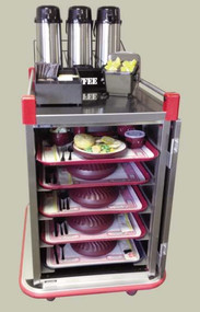Performance Patient Meal 10 Tray Delivery Cart CARTER-HOFFMAN PSDST10