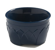 Fenwick™ Bowl, 9 oz., insulated, double wall construction, ozone-safe urethane foam insulation, sculpture design, midnight blue (48 per case)
